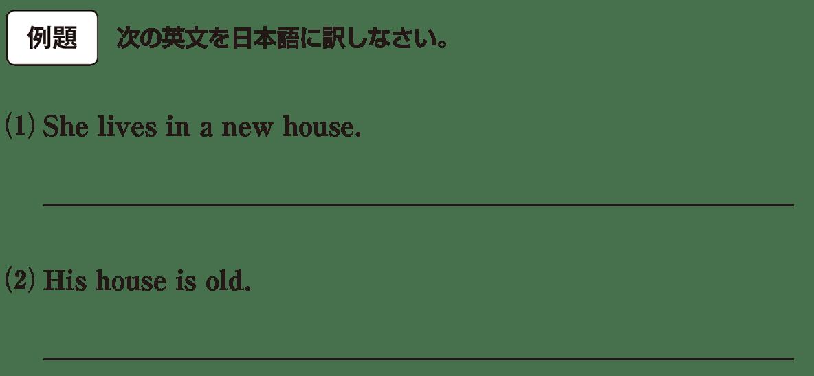 高校英語文法 形容詞・副詞1・2の例題(1)(2) アイコンあり