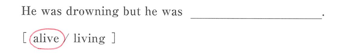 高校英語文法 形容詞・副詞3・4の例題(2) 答え入り アイコンなし