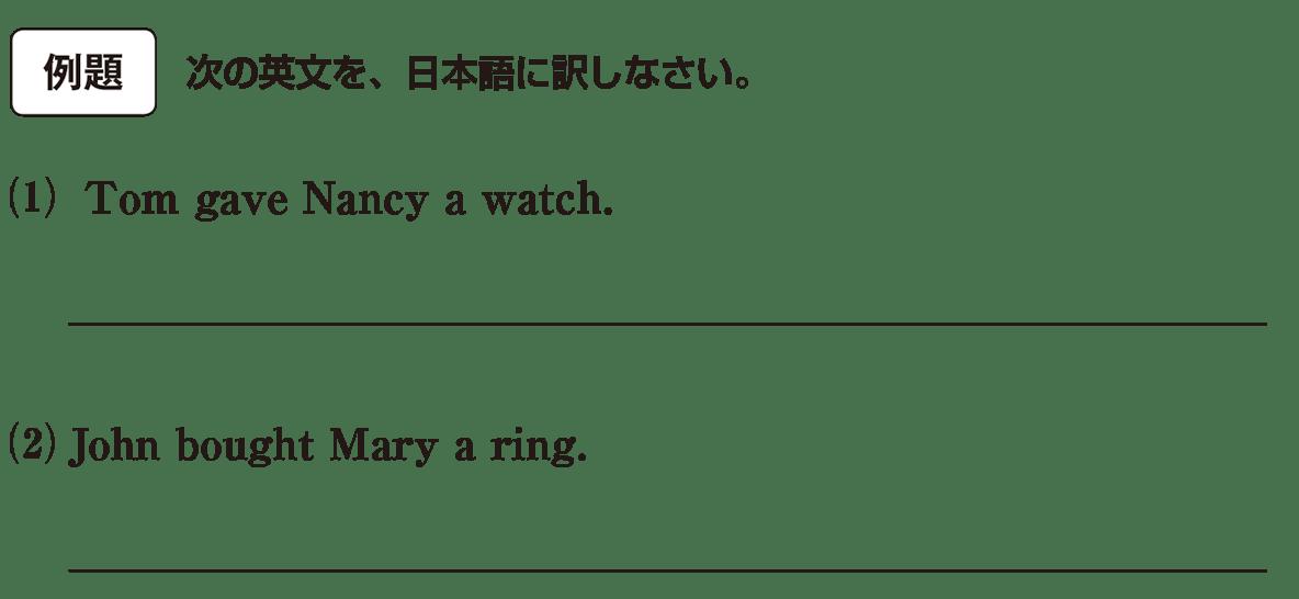 高校英語文法 5文型11・12の例題(1)(2) アイコンあり
