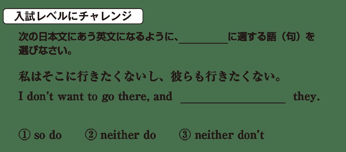 高校英語文法 強調・倒置・挿入・省略・同格7・8の入試レベルにチャレンジ アイコンあり