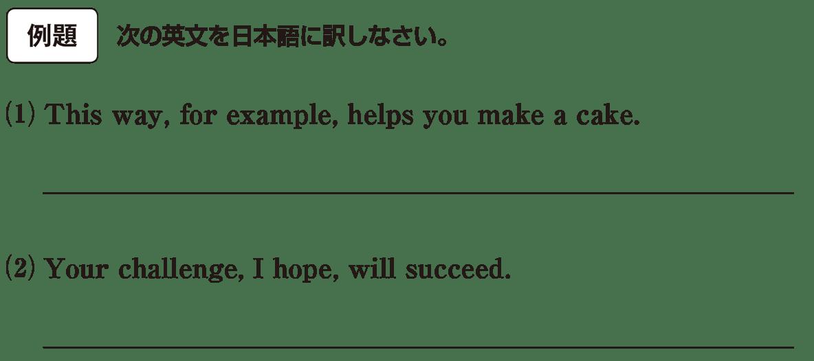高校英語文法 強調・倒置・挿入・省略・同格9・10の例題(1)(2) アイコンあり