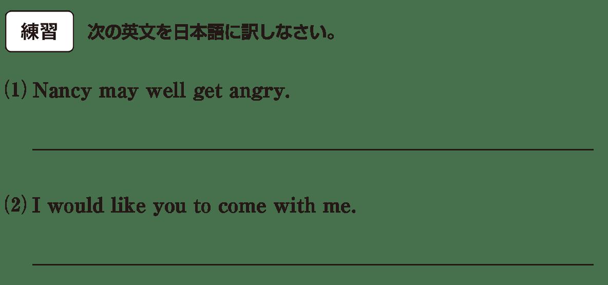 助動詞22の練習(1)(2) アイコンあり