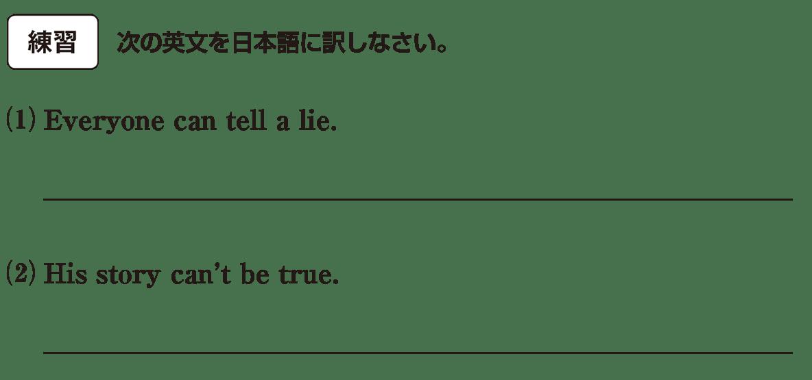 助動詞2の練習(1)(2) アイコンあり