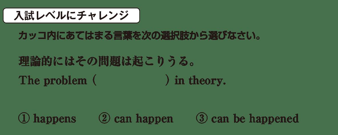 助動詞2の入試レベルにチャレンジ アイコンあり