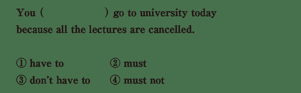 助動詞10の入試レベルにチャレンジ アイコンなし