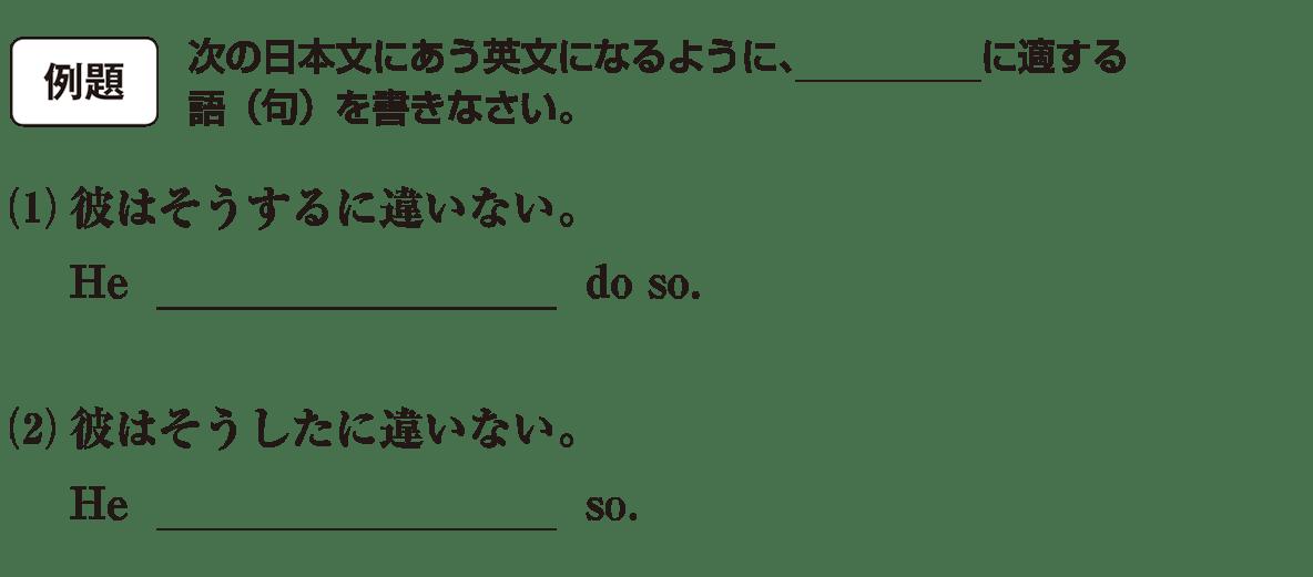 助動詞15の例題(1)(2) アイコンあり