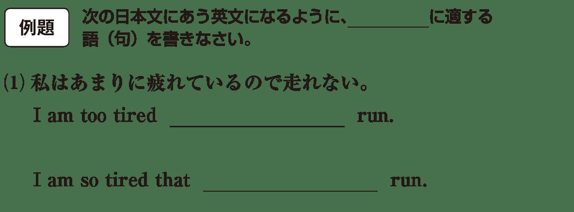 不定詞23の例題(1) アイコンあり