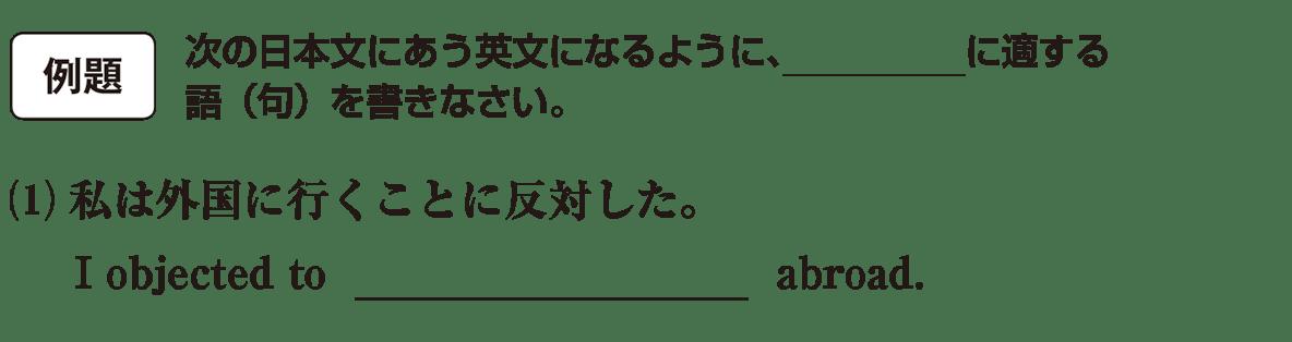 動名詞7の例題(1) アイコンあり