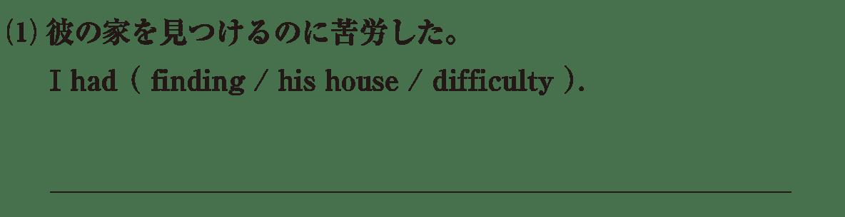 動名詞10の練習(1) アイコンなし