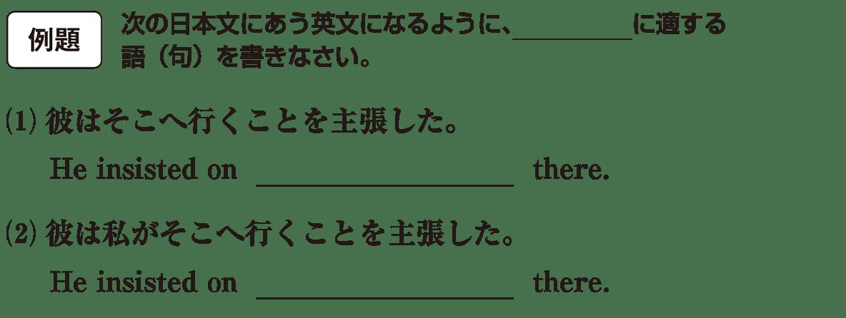 動名詞13の例題(1)(2)アイコンあり