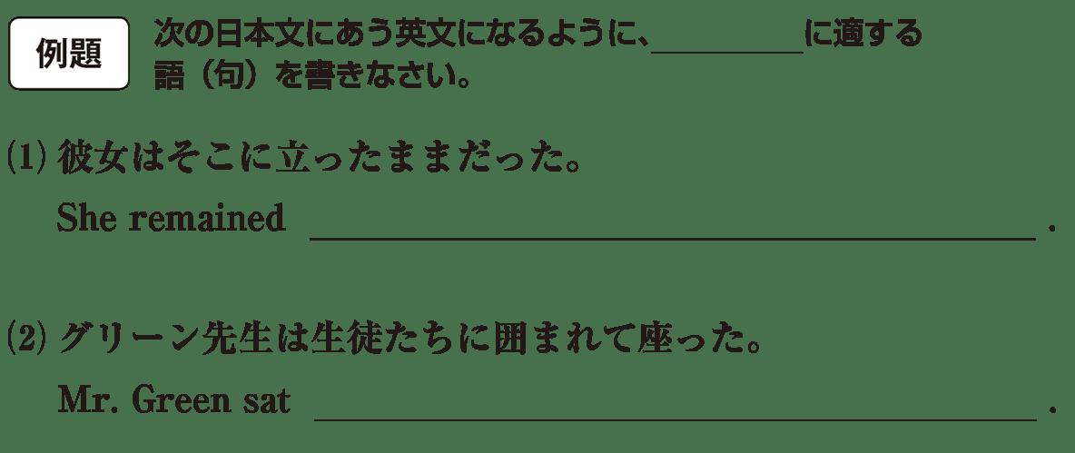 分詞5の例題(1)(2) アイコンあり