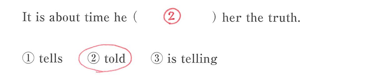 仮定法20の入試レベルにチャレンジ 答え入り アイコンなし