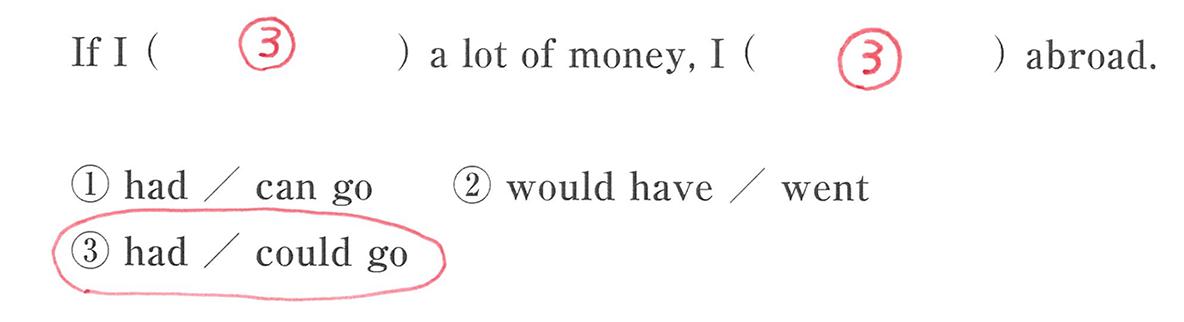 仮定法6の入試レベルにチャレンジ 答え入り アイコンなし
