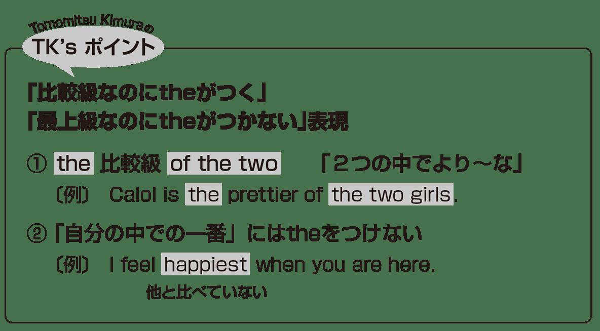 高校英語文法 比較23・24のポイント アイコンあり