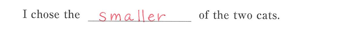 高校英語文法 比較23・24の例題(1) 答え入り アイコンなし