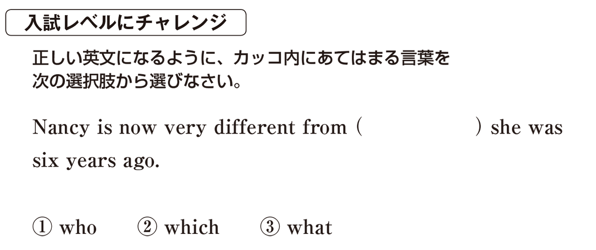 高校英語文法 関係詞25・26の入試レベルにチャレンジ アイコンあり