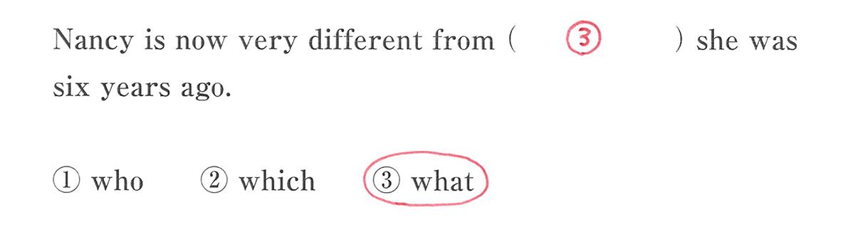 高校英語文法 関係詞25・26の入試レベルにチャレンジ 答え入り アイコンなし