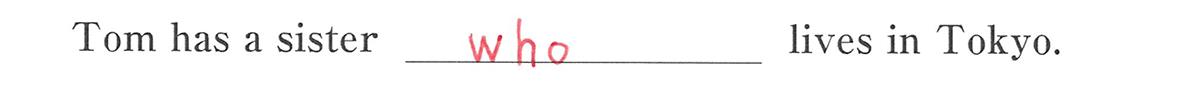 高校英語文法 関係代名詞1・2の例題(1) 答え入り アイコンなし
