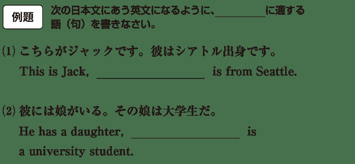 高校英語文法 関係詞17・18の例題(1)(2) アイコンあり