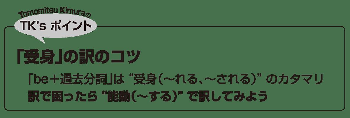 英語構文 動詞の眺め方6 TK'sポイント