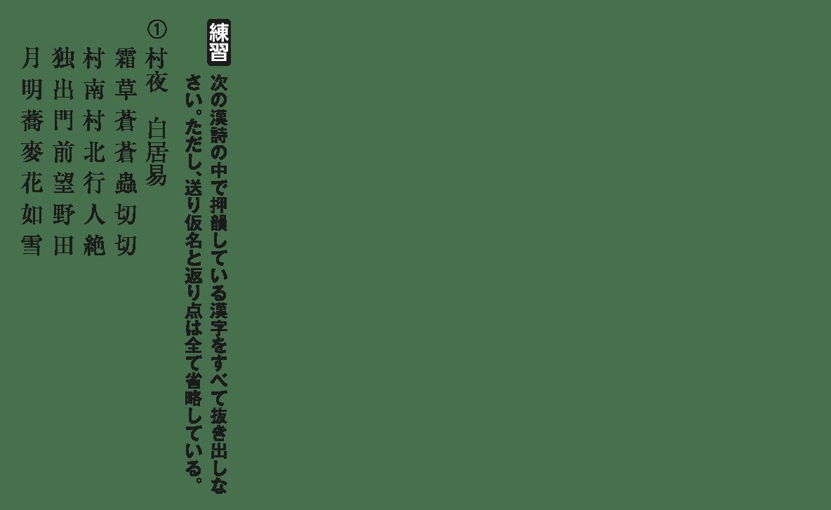 高校漢文 10章2 練習① 答え無し