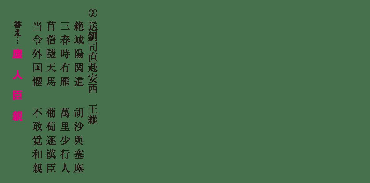 高校漢文 10章2 練習② 答え有り