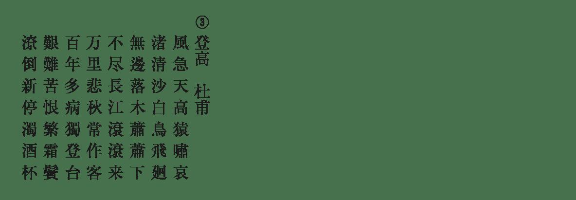 高校漢文 10章2 練習③ 答え無し
