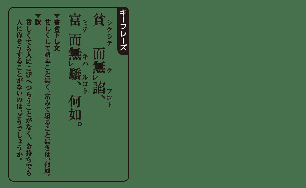高校漢文 5章3 キーフレーズ
