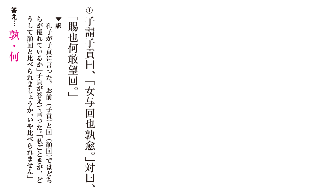 高校漢文 6章1 練習① 答え有り