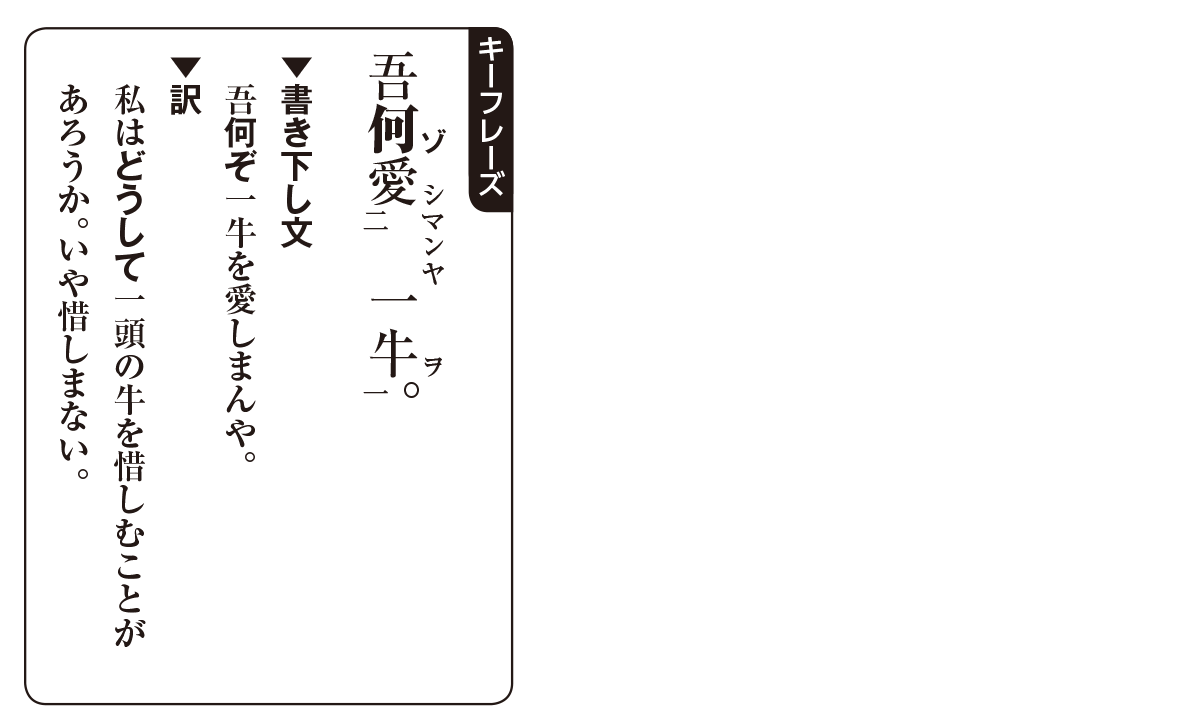 高校漢文 6章3 キーフレーズ