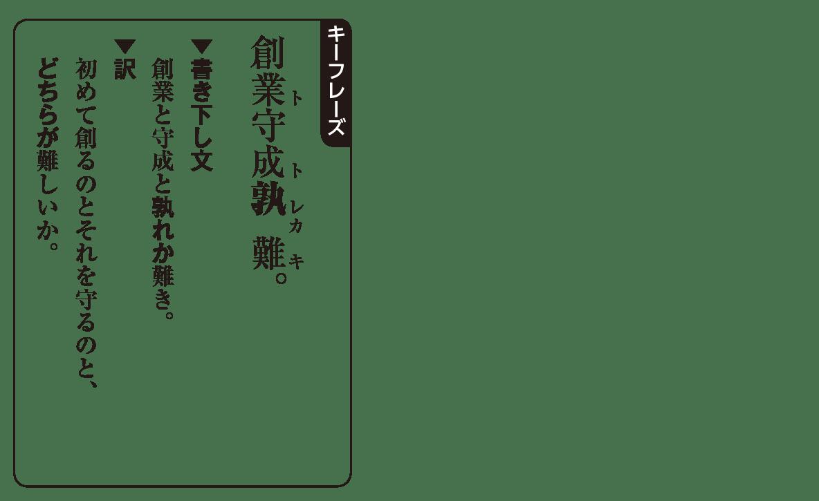 高校漢文 6章5 キーフレーズ
