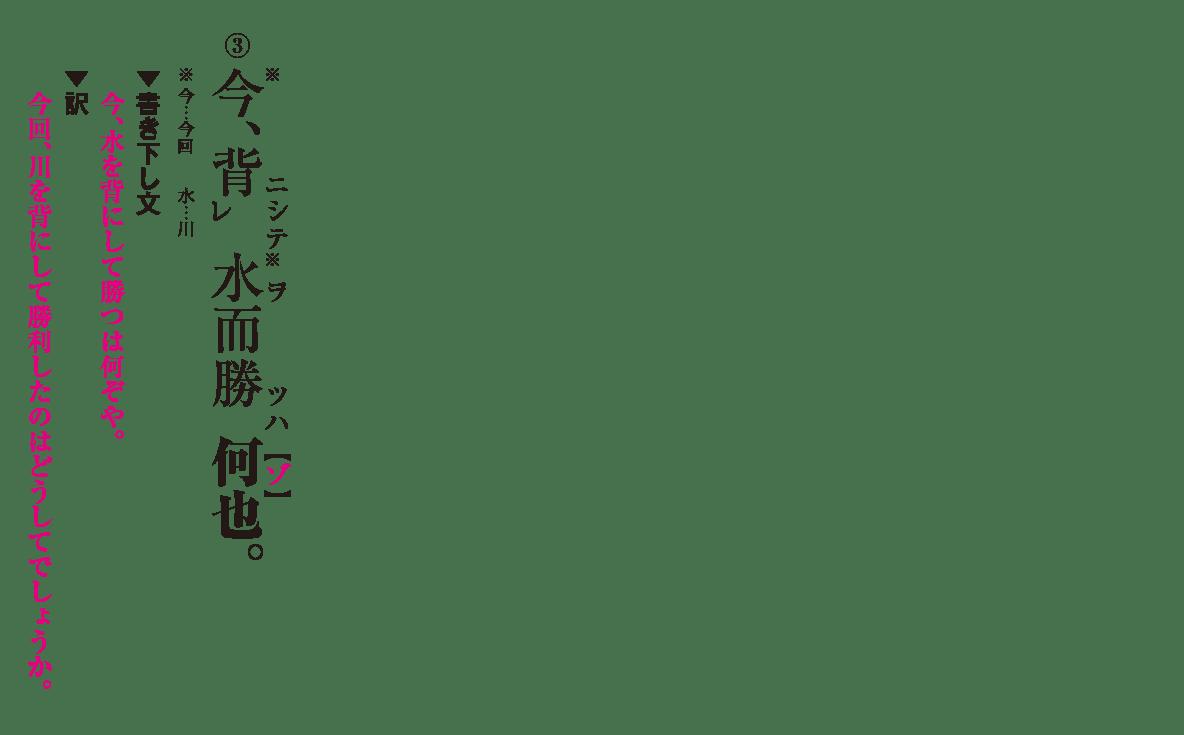 高校漢文 6章6 練習③ 答え有り