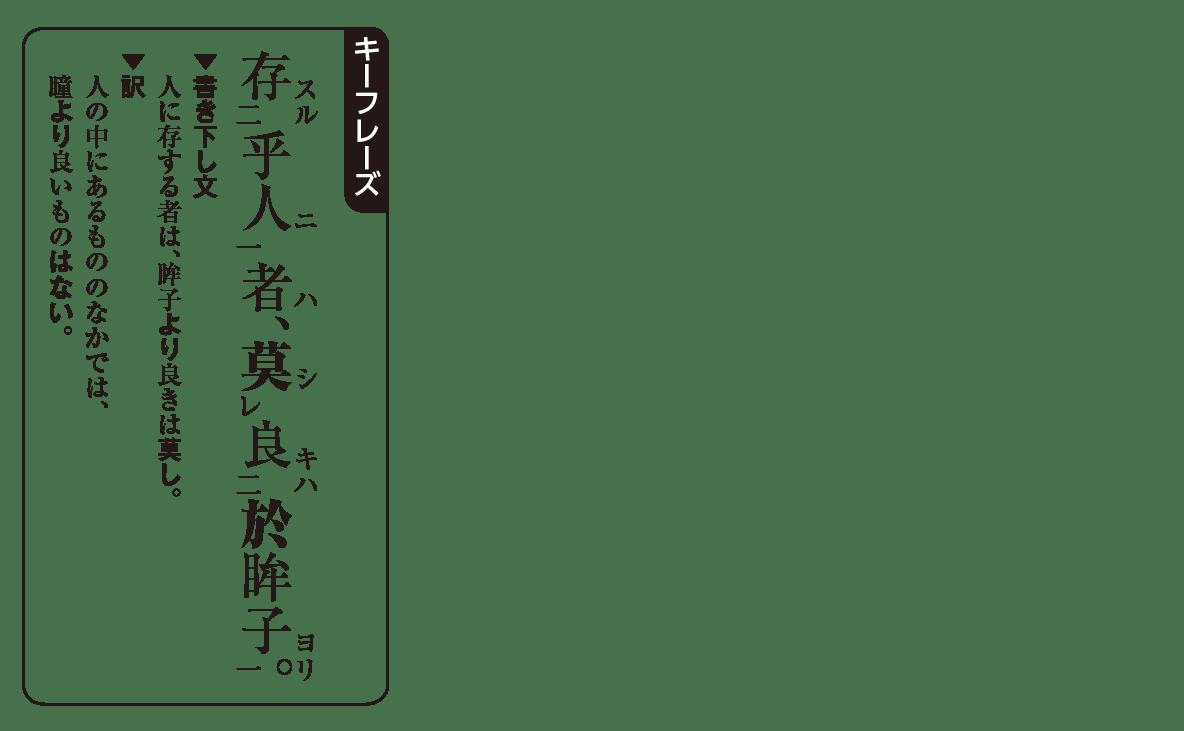高校漢文 7章2 キーフレーズ