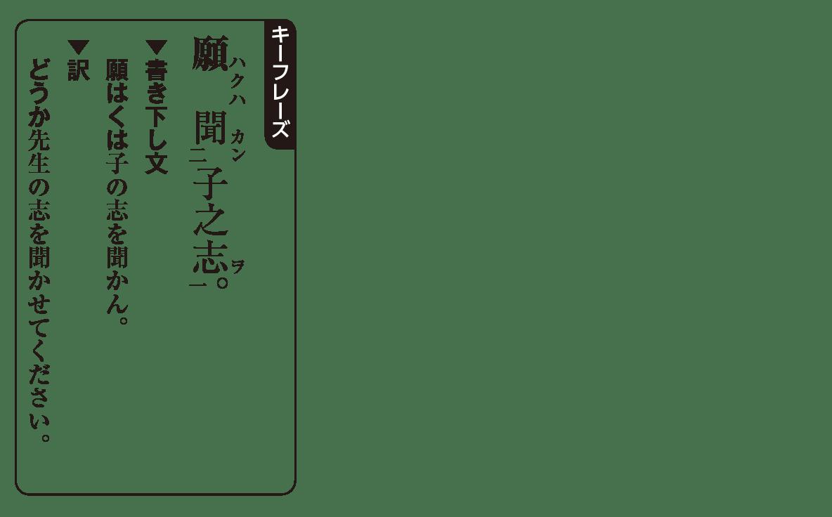 高校漢文 8章3 キーフレーズ
