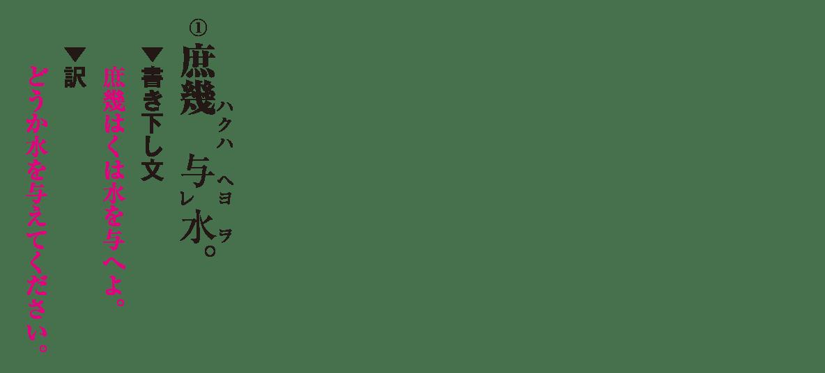 高校漢文 8章3 練習① 答え有り