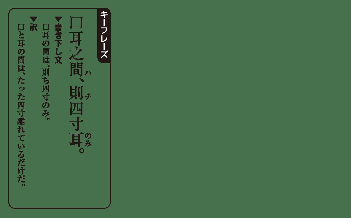 高校漢文 9章1 キーフレーズ