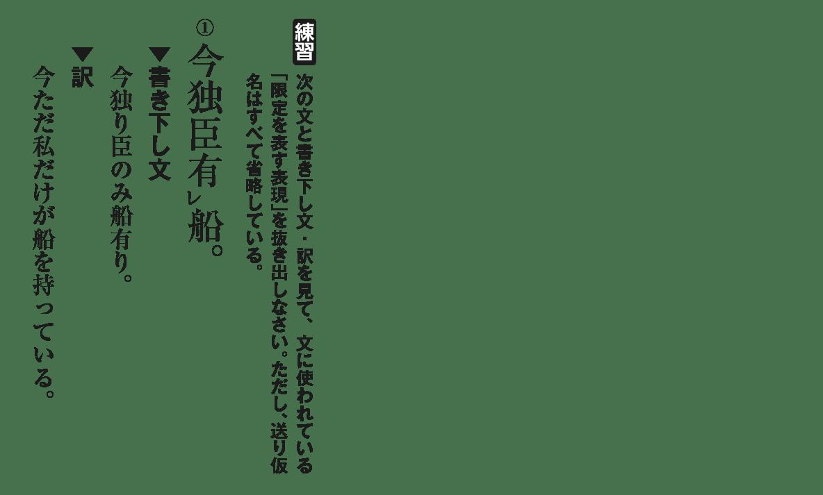 高校漢文 9章1 練習① 答え無し