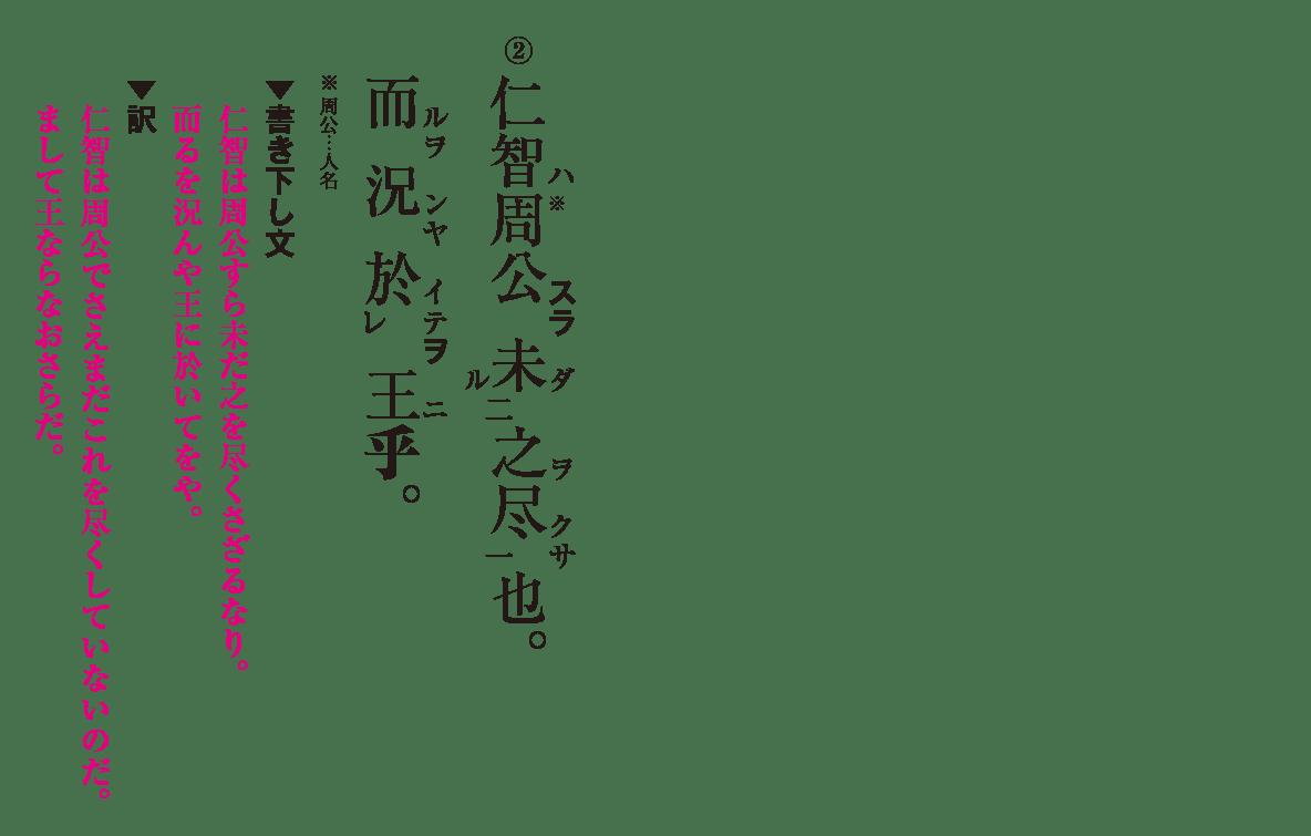高校漢文 9章3 練習② 答え有り