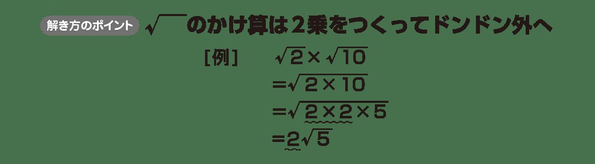 高校数学Ⅰ 数と式31 ポイント