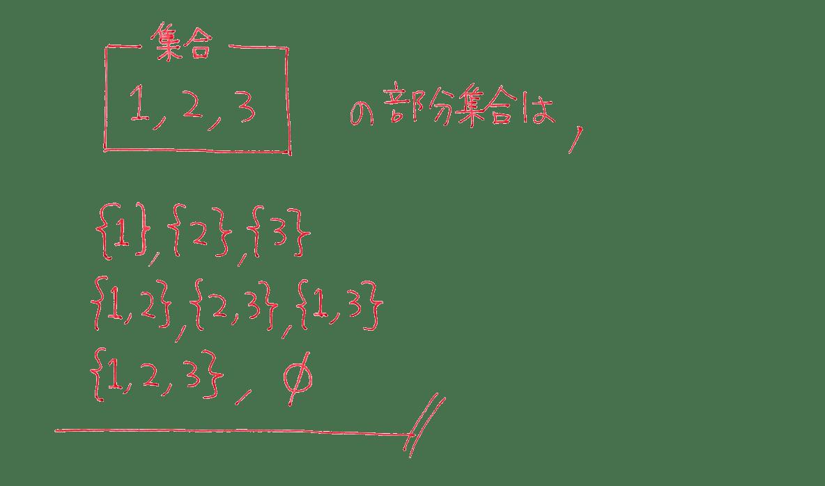高校数学Ⅰ 数と式63 例題の答え