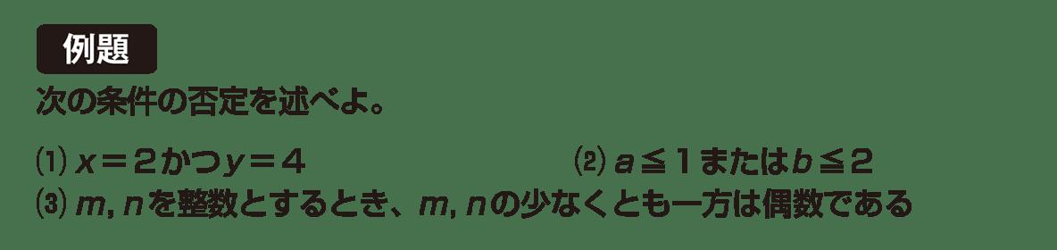 高校数学Ⅰ 数と式76 例題