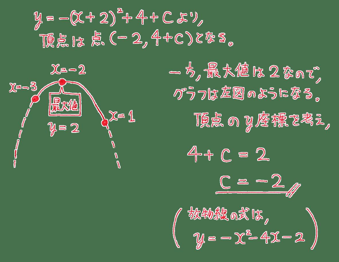 高校数学Ⅰ 2次関数29 練習の答え