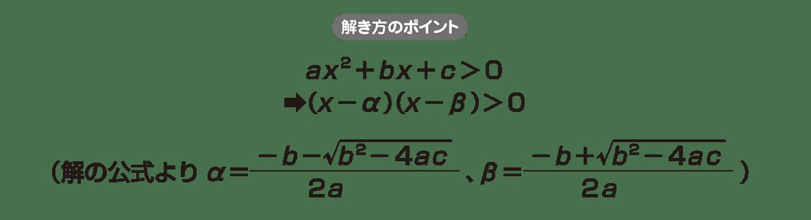高校数学Ⅰ 2次関数42 ポイント