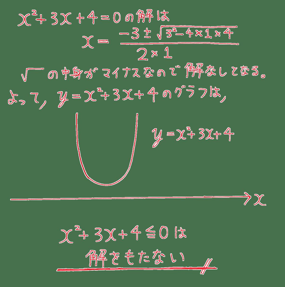 高校数学Ⅰ 2次関数45 練習の答え