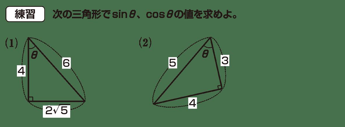 高校数学Ⅰ 三角比3 練習