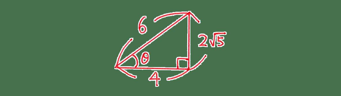 高校数学Ⅰ 三角比3 練習(1)の答え 三角形の図