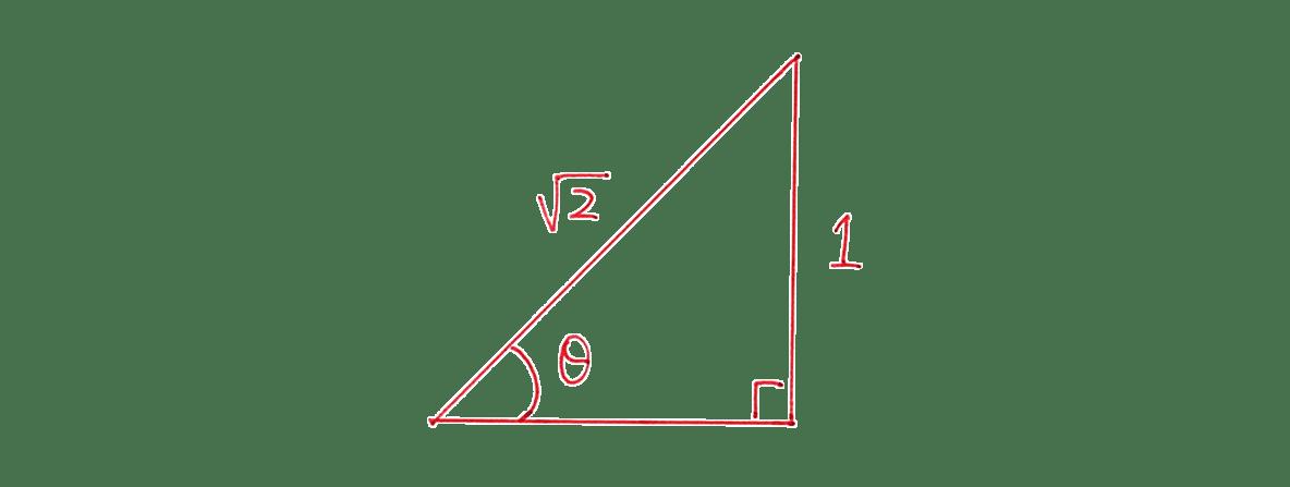高校数学Ⅰ 三角比5 練習の答え 右にある直角三角形の図
