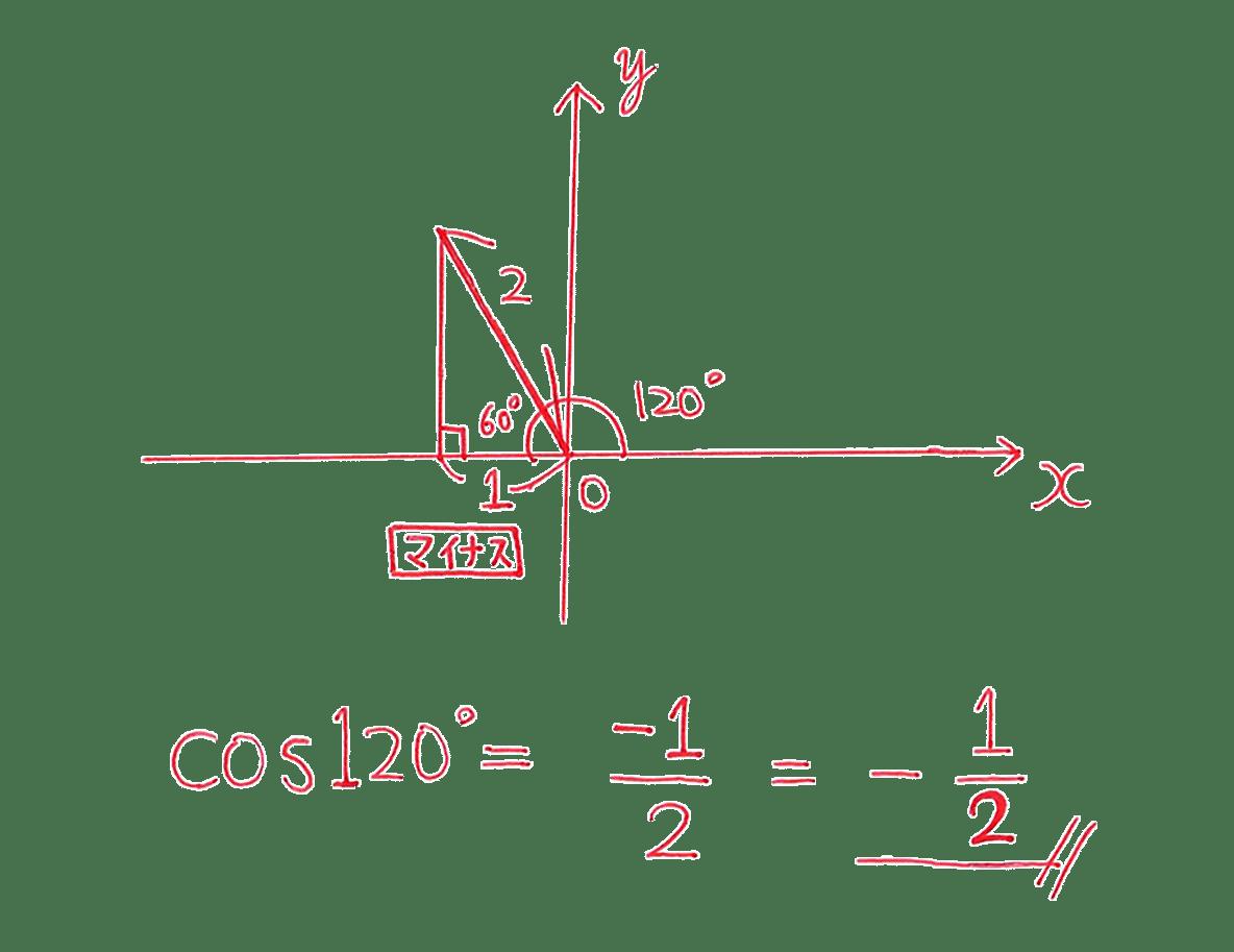 高校数学Ⅰ 三角比11 例題の答え