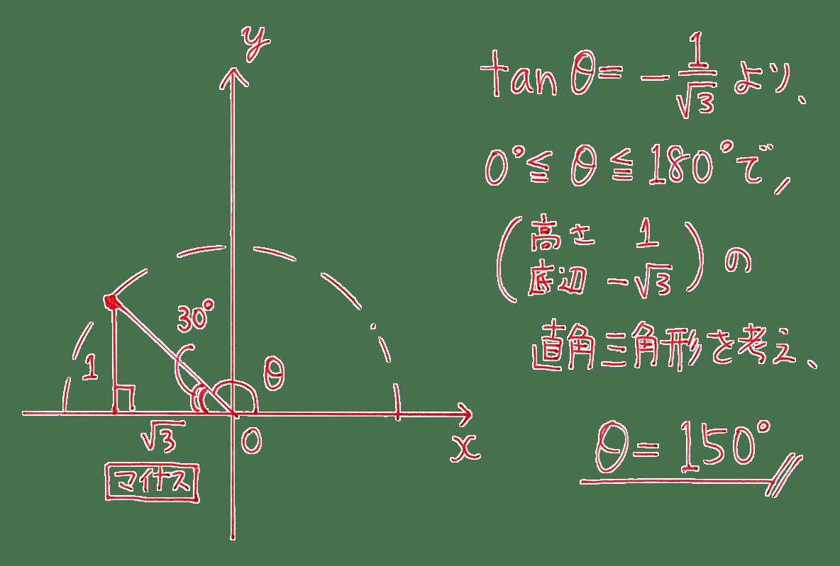 高校数学Ⅰ 三角比16 例題の答え