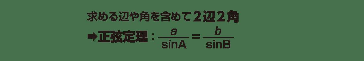 高校数学Ⅰ 三角比25 ポイント 1~2行目 ポイントタイトルのぞく